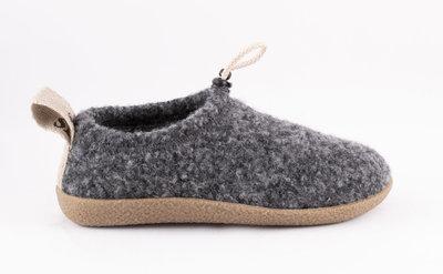 Shepherd pantoffels Magda Antrazit