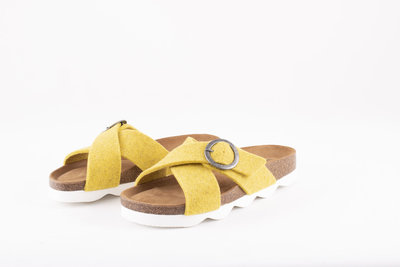 Shepherd slipper Marianne Yellow