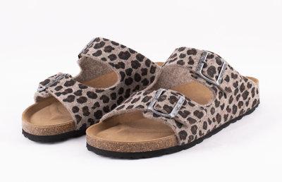 Shepherd slipper Cassandra Leopard