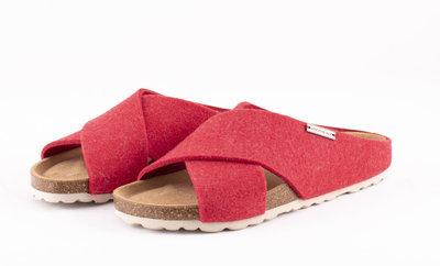 Shepherd slipper Carolina Bright Red