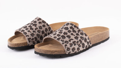 Shepherd slipper Bonnie Leopard